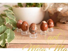 Energetické jaspisové vajíčko (Yoni)
