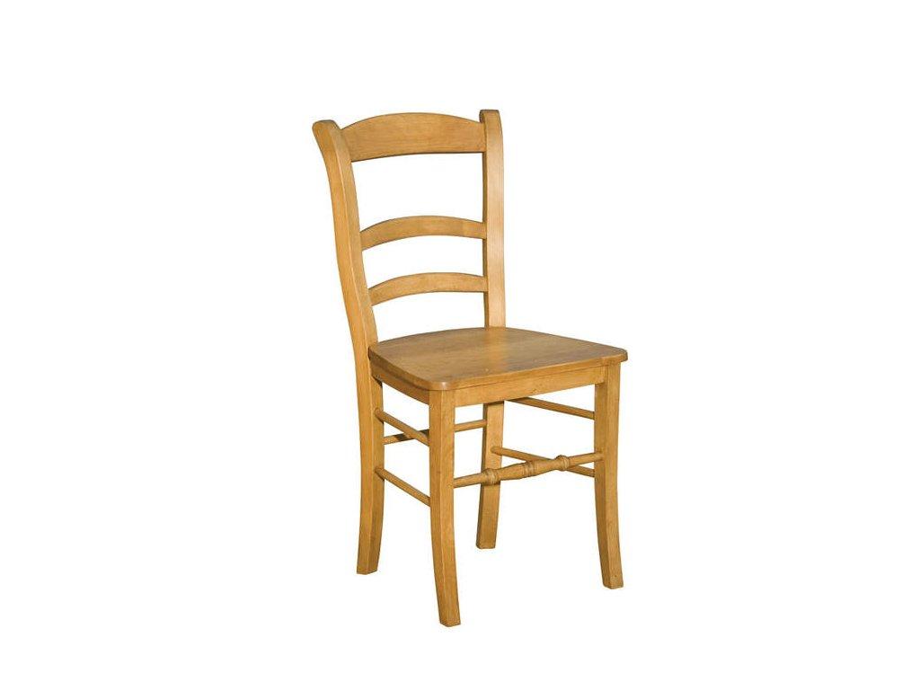 Dřevěná židle D441