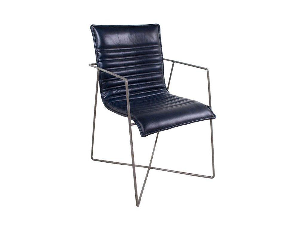 Kožená židle DT48