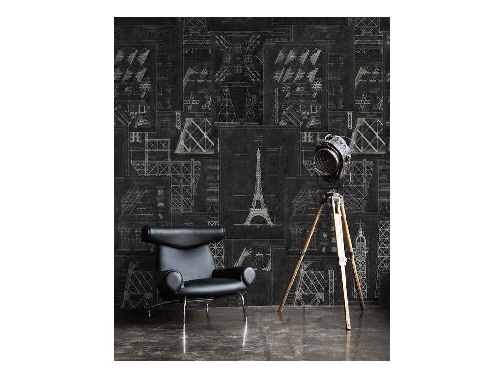 WP 20218 Grand Eiffel Anthracite