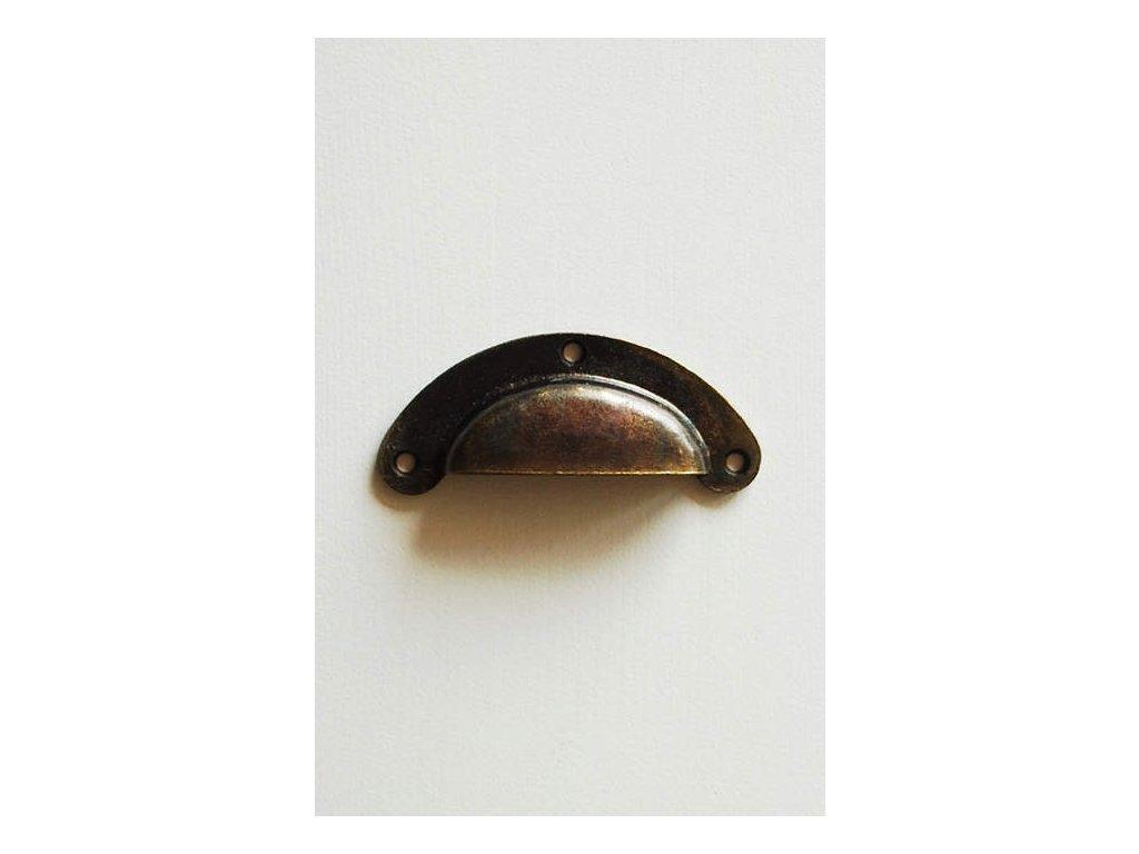 Úchytka kovová OP 02 bronz