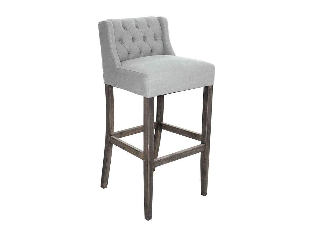 Barová židle DT45 v kůži