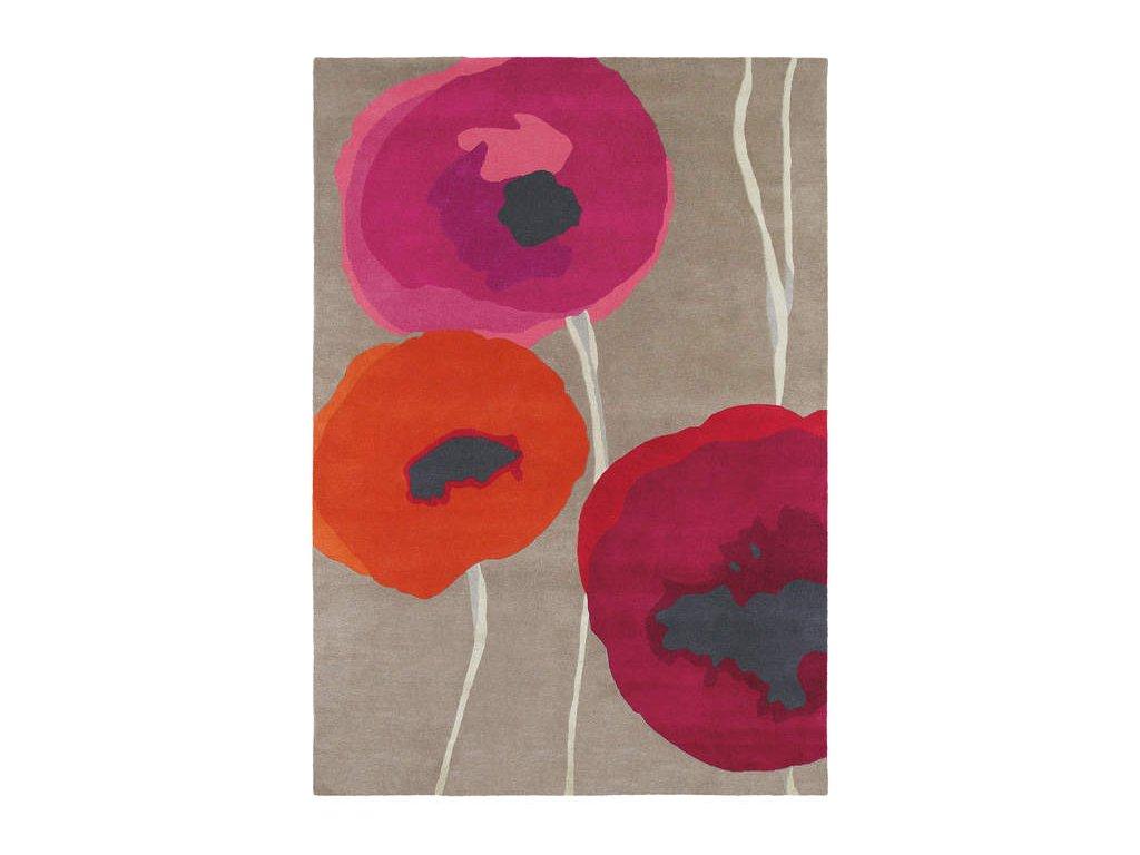 Poppies Red/Orange