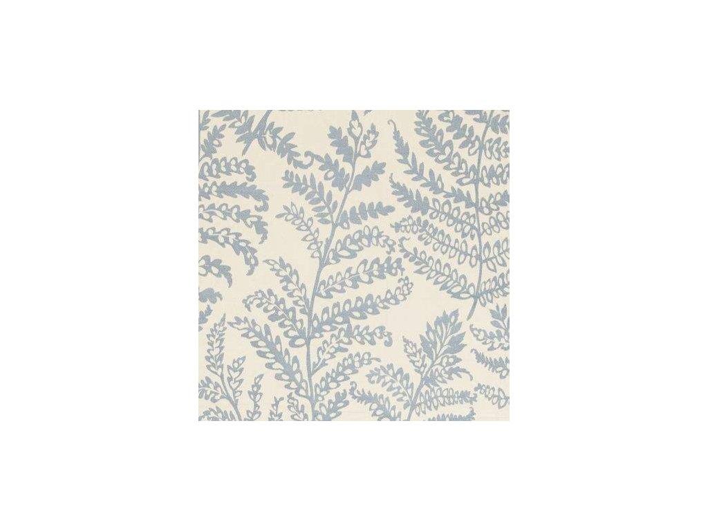 Anglická potahová textilie Wild fern Mineral F0488/04