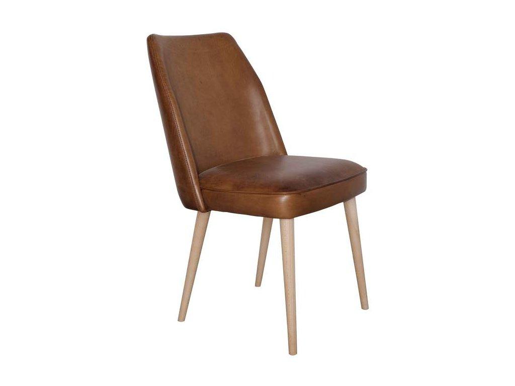 Kožená židle DT13