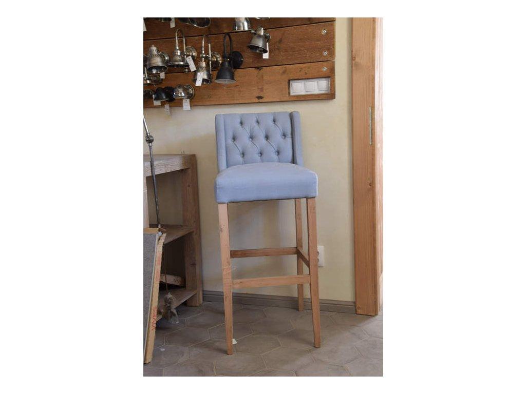Židle barová DT45-Blue