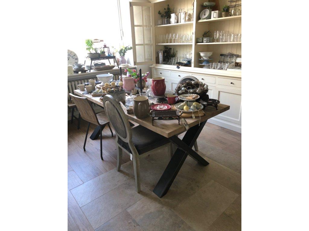 Stůl s kovovou podnoží D811 RP skladem