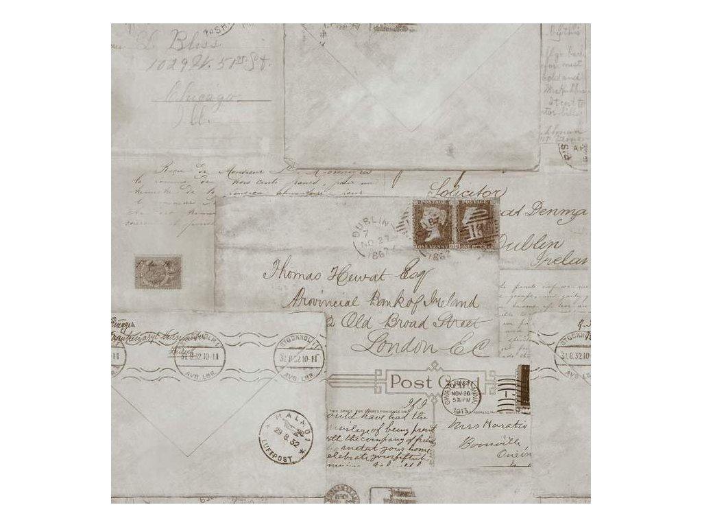 WP 20018 Vintage Letters
