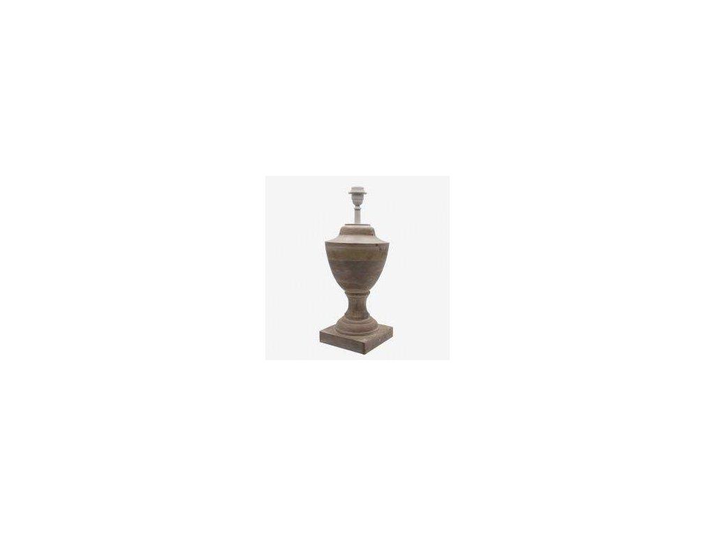 Stolní lampa - dřevěná