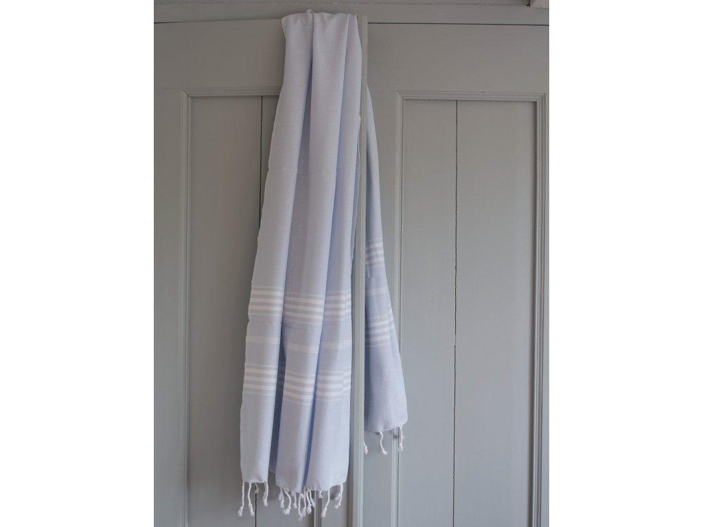 Ottomania hamam towel 1588 1 light blue