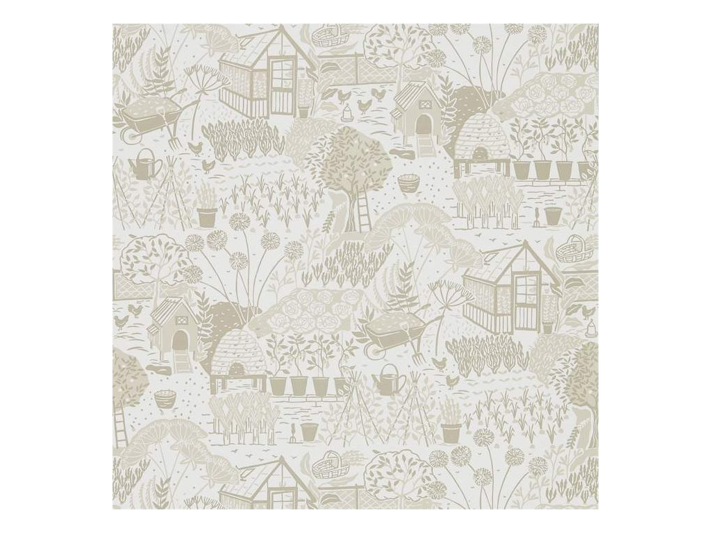 The Allotment - Linen 216353