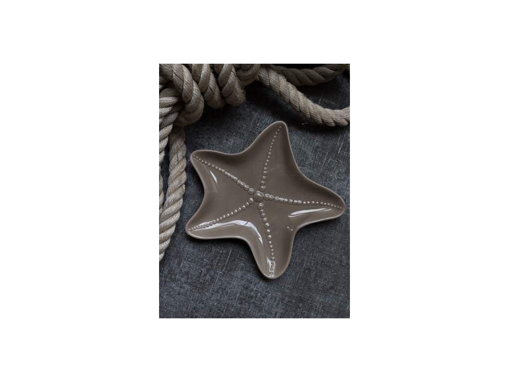 Miska ve tvaru hvězdice - hnědává