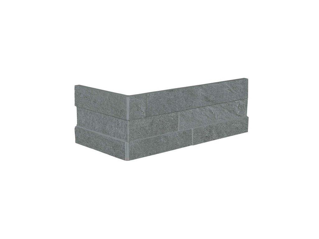 Matrix Mur.Ang 10,5 x 30 +15  Silver