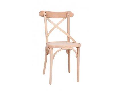 Dřevěná židle D638