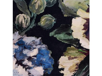 Anglická dekorační látka od Designers Guild Bloomsbury Rose Indigo