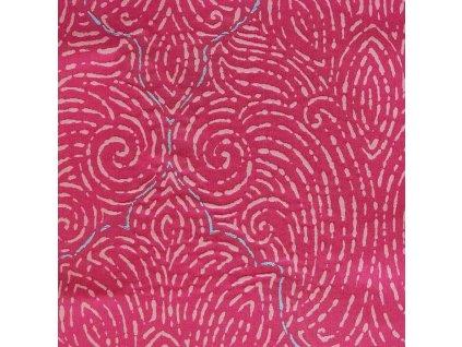 Anglická dekorační látka od Designers Guild Basilica Fuchsia