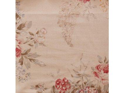Dekorativní látka Ralph Lauren Angela Floral - Cream