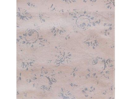 Dekorativní látka Ralph Lauren Fairdale Floral - Blue