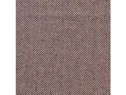 Dekorativní látka Ralph Lauren Sutherland Herringbone - Charcoal