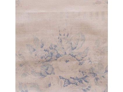 Dekorativní látka Ralph Lauren Wainscott Floral - Chambray