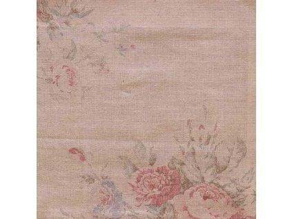 Dekorativní látka Ralph Lauren Wainscott Floral - Vintage Rose