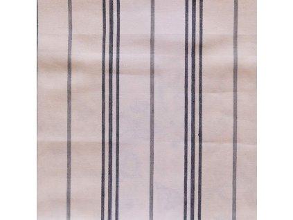 Dekorativní látka Ralph Lauren Maritime Linen Ticking - Denim
