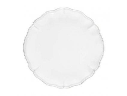 Costa Nova - Alentejo - jídelní talíř Bílý