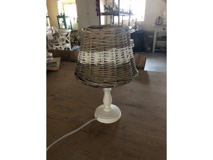 Bílá noha lampy 43