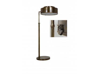 31044 Stolní lampa Evelin mosaz