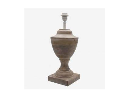 Stolní lampa dřevěná