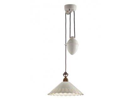 Stropní světlo do kuchyně Il Fanale FIORI DI PIZZO 065.11.OC
