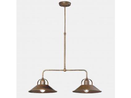 Il Fanale, stropní svítidlo, dvojramenný lustr Cascina 204.09.OO