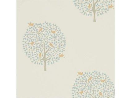 Bay Tree - Copper / Denim 216361