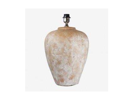 Rustikální cihlová lampa velká