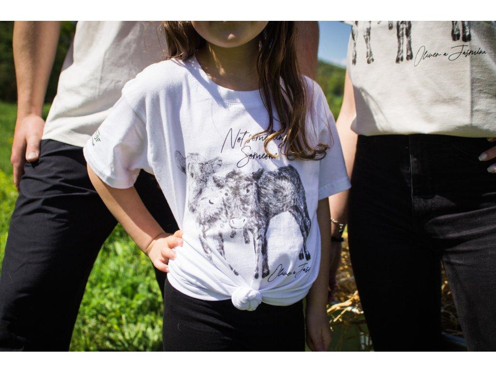 Dětské tričko edice Kravičky