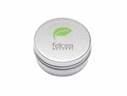 Prírodné ochranné maslo na pery bohaté na cenné výživné oleje, 15 ml, Felicea