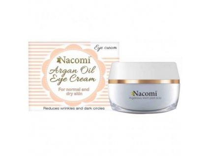 Prírodný arganový očný krém, Nacomi, 15 ml
