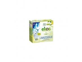 Ekologické bezfosfátové tablety do umývačky, 25 ks, EKOS