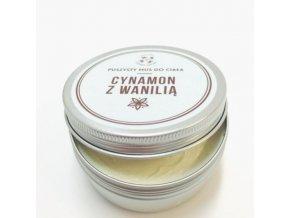 Telové maslo s vanilkou a škoricou, ideálne na domáci wellness 2, 150 ml , Cztery Szpaki konzistenica