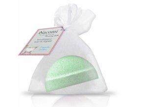 Šumivá bomba pre kúpeľ s vôňou zeleného čaju, 65 g, Nacomi