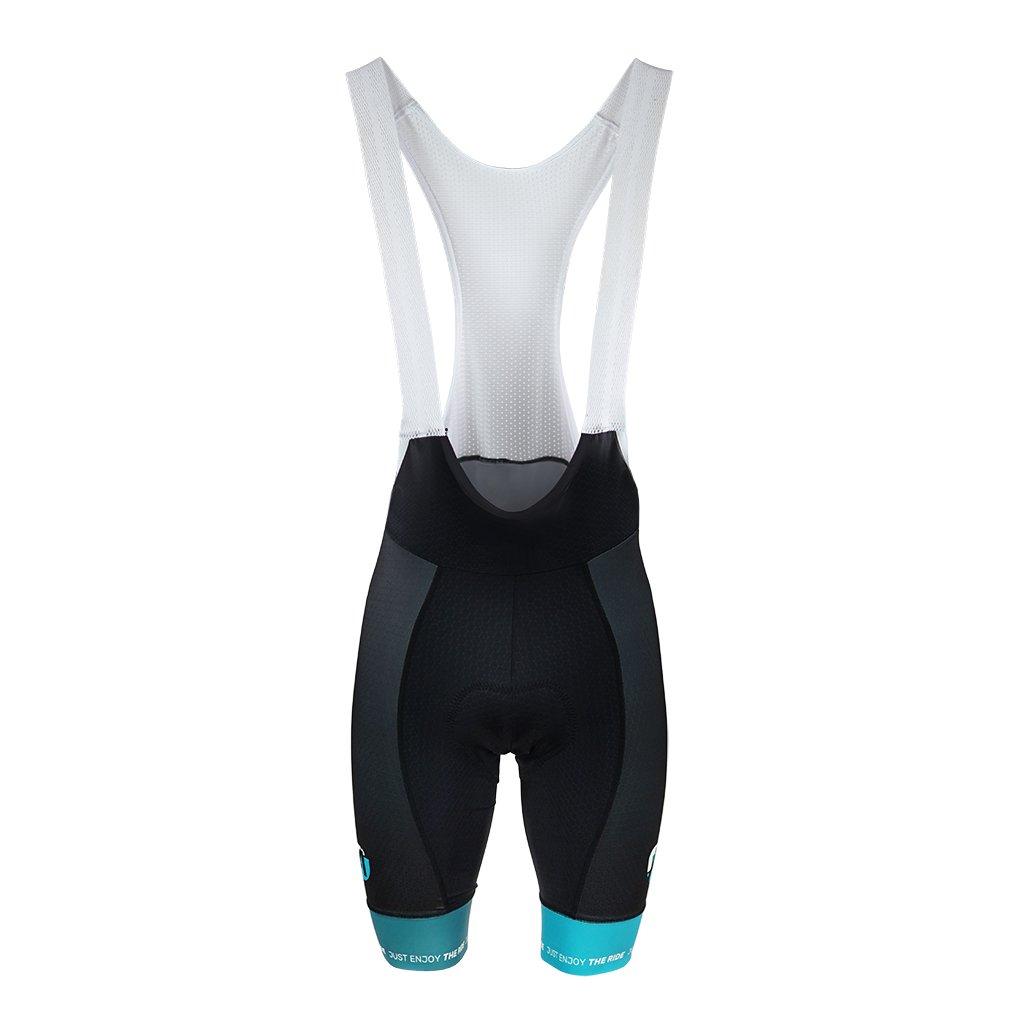 aper cyklisticke kalhoty sle stripes cernozelene 1