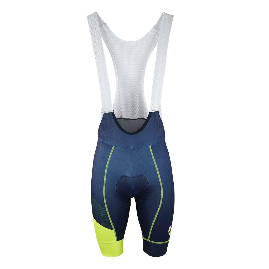 aper cyklisticke kalhoty sle dynamic modrozlute 1