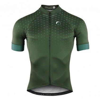 aper cyklo dres kratky pansky elegance zeleny 01