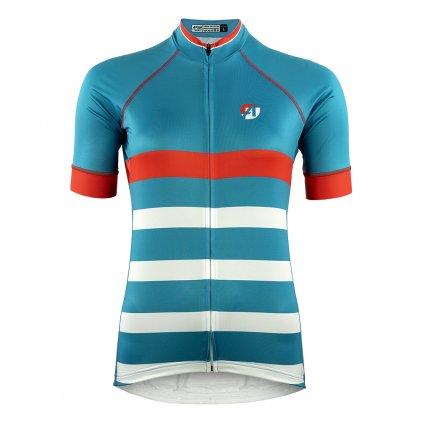 aper damsky cyklisticky dres fresh green 1