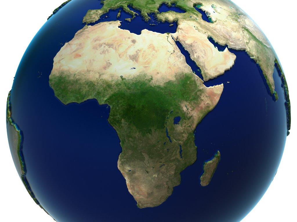 Sklípkani výskyt Afrika