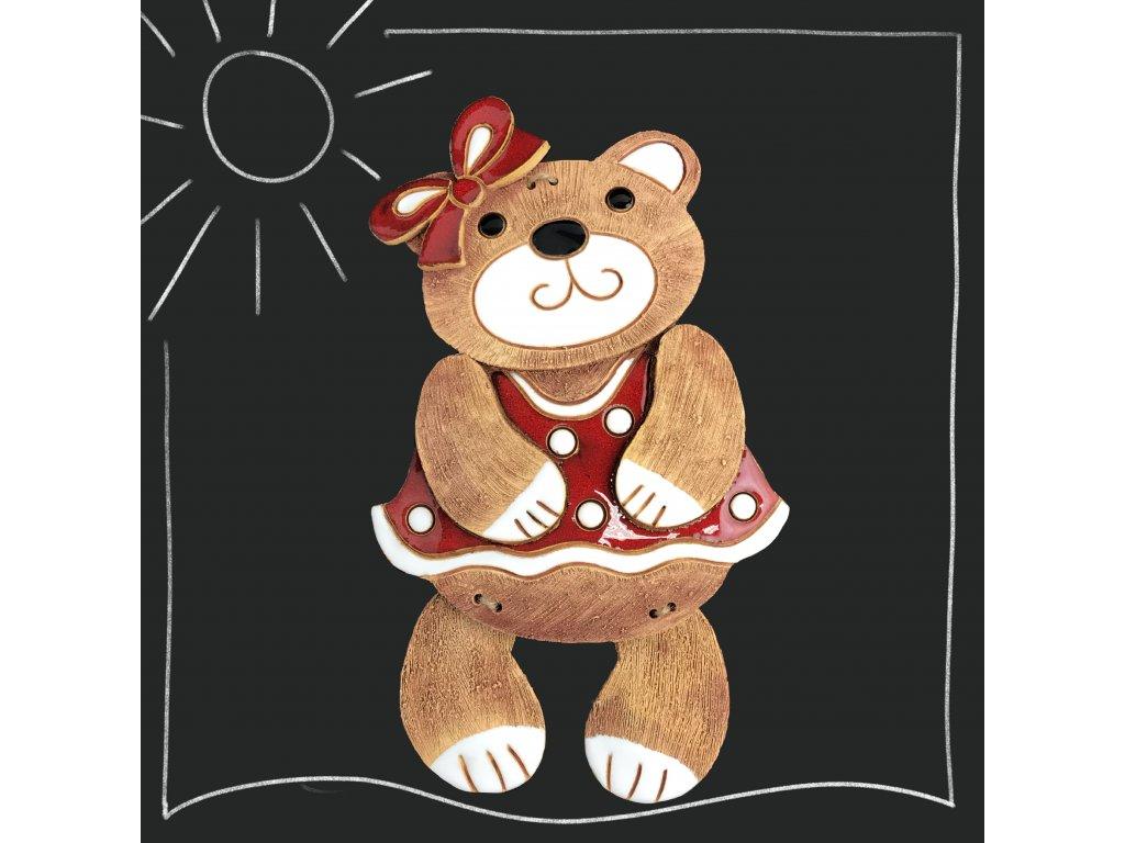 Medvědí holka s mašlí - více variant