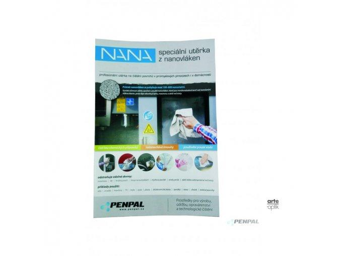 Nana utěrka s nanovláken