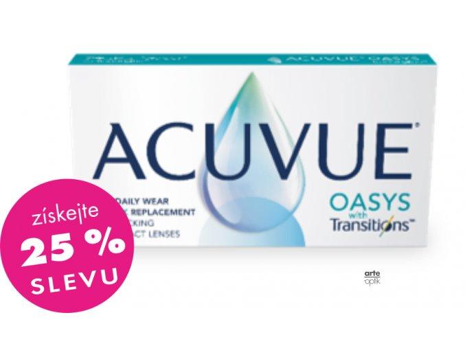 ACUVUE OASYS with TRANSITIONS (6 čoček)