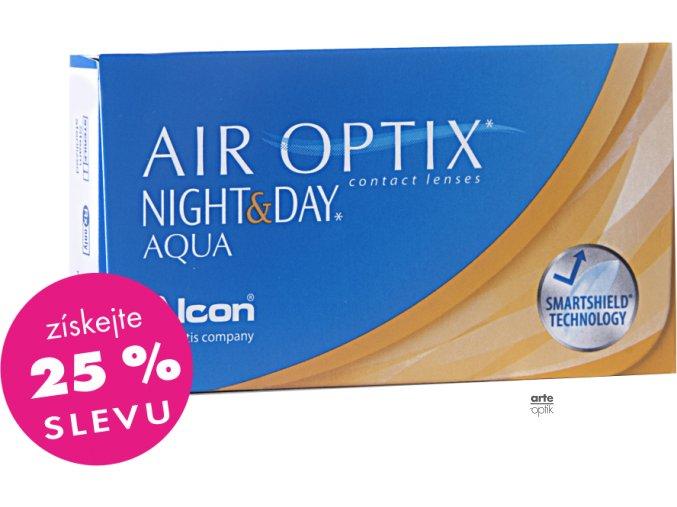 AIR OPTIX NIGHT&DAY AQUA (6 čoček)