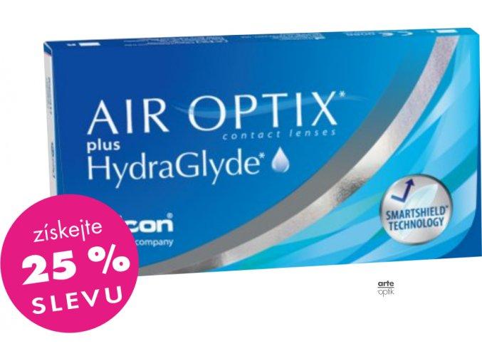 AIR OPTIX PLUS HYDRAGLYDE (6 čoček)